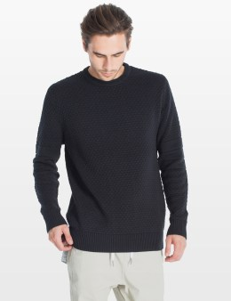 ZANEROBE Black Bronx Crewneck Sweater Picture