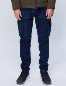 STONE ISLAND Tapered Water Repellent Jeans Picture