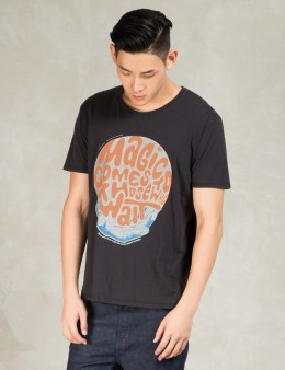 Nudie Jeans Black Magic Comes O-neck T-Shirt Picture