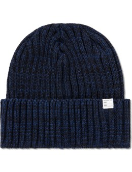 """DELUXE Navy """"Ransky"""" Beanie Picture"""