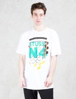 Stussy No. 4 Doodle T-Shirt Picture
