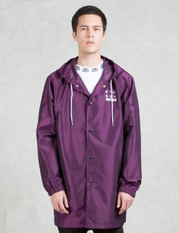 Stussy Long Hooded Coach Jacket Picture