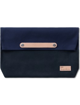 buddy Navy  Lead Clutch Bag  (M) Picture