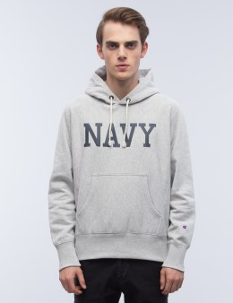 "Champion Reverse Weave ""NAVY"" Hoodie Picture"