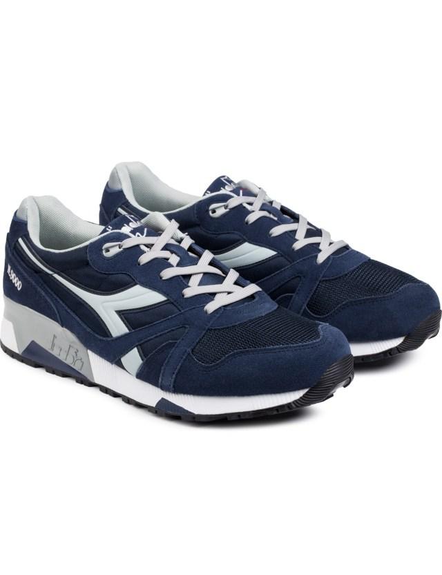 diadora classic navy high rise n9000 nyl sneakers hbx
