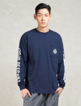 10.DEEP Navy L/S Offshore T-Shirt Picture