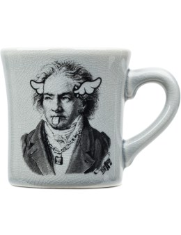 """Medicom Toy Sync.-D*FACE """"Beethoven"""" Dinner Mug Picture"""