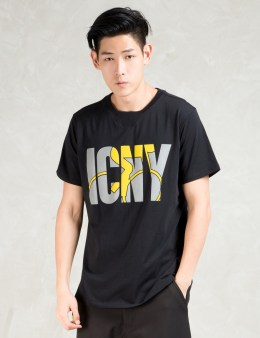 ICNY Black S/S Velo T-Shirt Picture