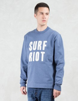 Paul Smith Red Ear Surf Riot Emb Crewneck Picture