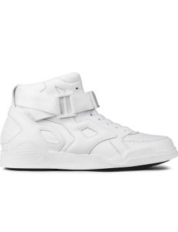 MARCELO BURLON White Block + Tongue Sneakers Picture