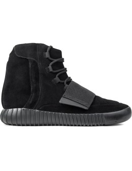 "adidas Yeezy Boost 750 ""Triple Black"" Picture"
