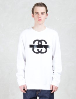 Stussy Ss Taped Crewneck Sweatshirt Picture
