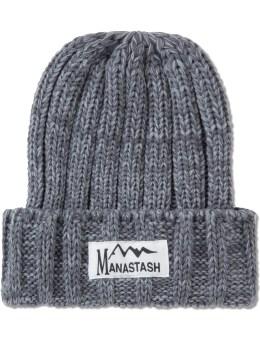 Manastash Grey Cuff Beanie Picture