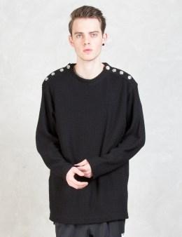 mastermind JAPAN Skull Shoulder Button Sweater Picture