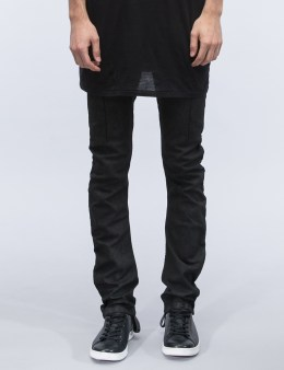 11 By Boris Bidjan Saberi Black Coating Jeans Picture