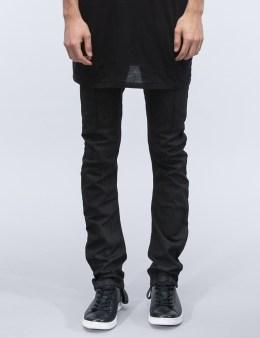 11 By Boris Bidjan Saberi Black Coating Jeans Picture