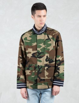 PHENOMENON Camo Bomber Jacket Picture