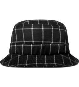 PUBLISH Black Callaway Plaid Fisherman Bucket Hat Picture
