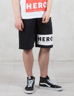 Hero's Heroine Hero Block Sweat Shorts Picture