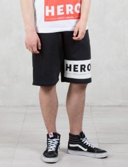 Hero's Heroine Hero Block Sweat Shorts Picture
