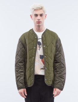 3.1 Phillip Lim Crochet Back Quilted Military Jacket Picture