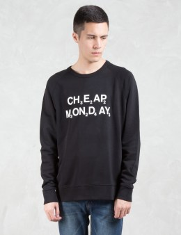 Cheap Monday Rules Chemical Logo Sweatshirt Picture