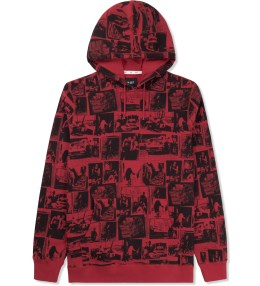 HUF Red Evidence Pullover Hoodie Picture