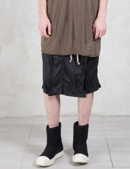 Rick Owens Drkshdw Savage Pod Shorts Picture