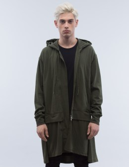 LAD MUSICIAN T-Cloth Layered Hoodie Picture