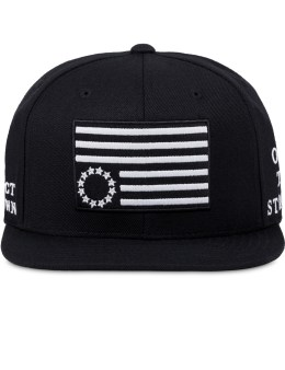 Black Scale Protect Rebels Snapback Cap Picture