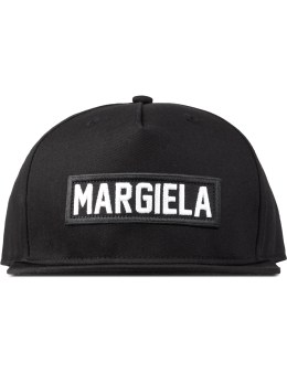 LES (ART)ISTS Black Margiela Patch Cap Picture