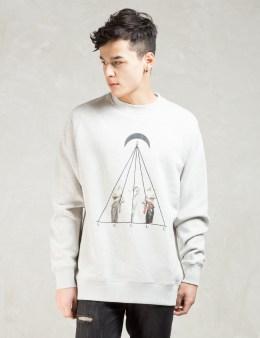 Black Scale Grey Timeless Ii Crewneck Sweatshirt Picture
