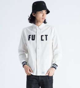 FUCT SSDD White Varsity L/S Shirt Picture