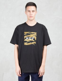 HUF Tiger Camo Box Logo S/S T-Shirt Picture