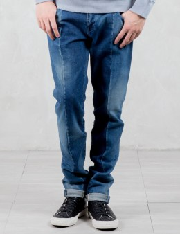 VALLIS BY FACTOTUM Trim Detail Slim Jeans Picture
