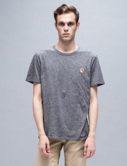 MAISON KITSUNE Fox Head Patch S/S T-Shirt Picture