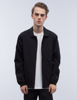 REIGNING CHAMP Stretch Nylon Coach's Jacket Picture