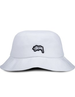 Stussy Stock Logo Pique Bucket Hat Picture