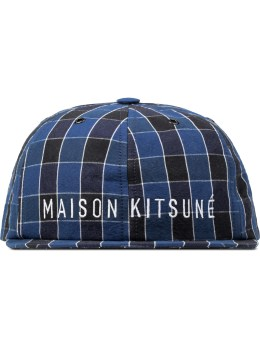 MAISON KITSUNE Check Small Visor Cap Picture