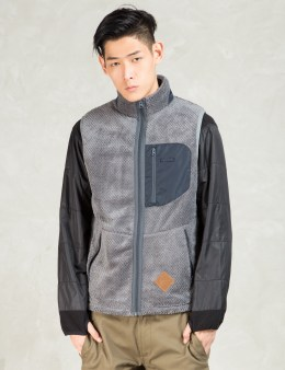 Manastash Grey Thermal Fleece Vest Picture