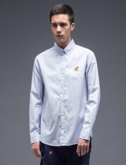 Parra Orange Juice L/S Oxford Shirt Picture