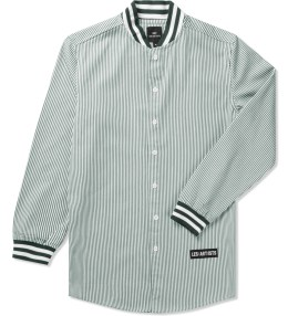 LES (ART)ISTS White Tisci 74 Oxford Baseball Shirt Picture