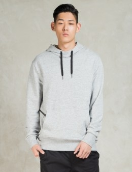 ZANEROBE Grey Marle Hood Sweat Picture