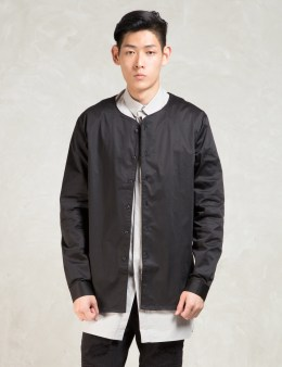 STAMPD Black L/S Baseball Shirt Picture