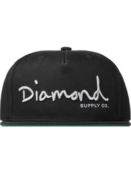 Diamond Supply Co. OG Script Snapback Cap Picture