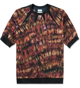 Paul Smith Red Tie-dye Print T-Shirt Picture
