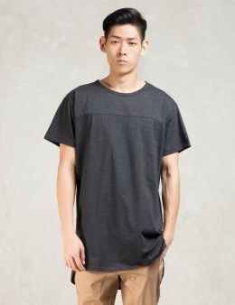STAMPD Grey S/S Chamber Scallop T-Shirt Picture