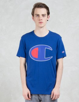 Champion Reverse Weave Oversized Logo S/S T-shirt Picture
