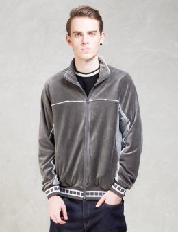 Hombre Nino Grey Velours Jersey Picture