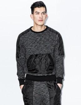 unyforme Black Vanguard Crewneck Sweater Picture